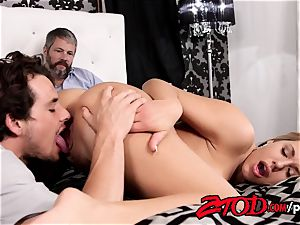 Olivia Austin romps her stepson