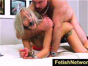 FetishNetwork Marsha May tied blondie