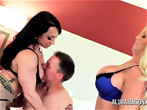 mummy detective Alura Jenson 3some bang-out