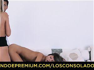 LOS CONSOLADORES - Russian Gina Gerson humped in FFM