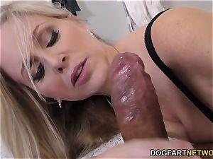 cougar doc Julia Ann Cures dark-hued fuckpole