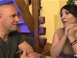 LA novice - warm anal invasion shag with killer French amateur