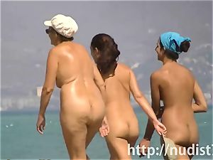 fabulous beach nudist nymphs