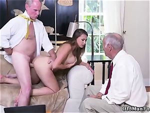smash his elderly buddy playfellow s sister Ivy makes an impression with her thick fun bags and donk