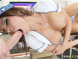 Madison Ivy cooks up a storm in the kitchen