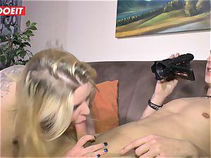 LETSDOEIT - plump doll Gets torn up rock-hard On sex tape