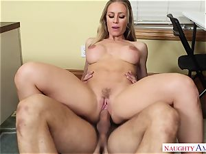 Nicole Aniston - My first lecturer, who told me about sex and took my manmeat on the desk
