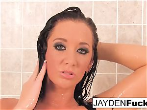 huge-titted Jayden Jaymes Takes A steamy lengthy douche