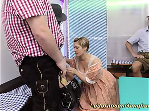 amateur lederhosen group sex intercourse