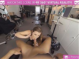 VRBangers.com Hairdresser Ella fucked hard and facial cumshot