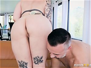 Ivy Lebelle ass penetrated by hung Keiran Lee