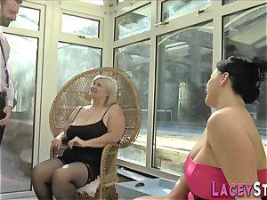 brit grandmother rides face