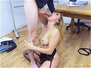 Brittany Bardot luvs getting spanked