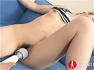 chinese satisfied so well her cock-squeezing fuckbox erupts