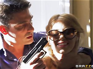Kidnapping gets Kayla Kayden in the mood for some stiffy