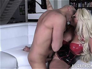 super-naughty Alura Jenson demonstrates her hubby a new side of her