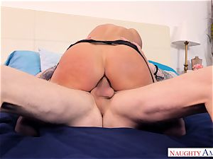 India Summers pounded in her butt hole
