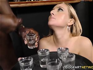 interracial buttfuck gang-fuck with bbc whore Kate England