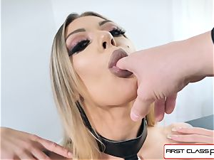watch Karma Rx take her hatch and vag total of sausage