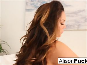 Alison Tyler paws her twat