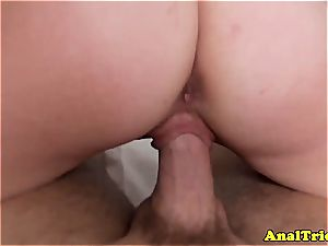 inexperienced sweetheart Lacey Leveah gets her backside plowed great in pov