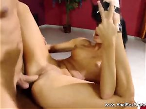 brunette milf luvs The assfuck orgy