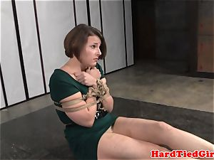 round mature marionette getting abased