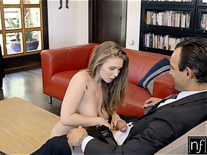 lucky boy Gets perfect figure Lena Paul For Night S7:E3