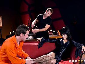 MMF porking for gothic stunner Katrina Jade