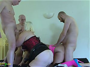 OldNannY Mature damsels liking xxx group fucky-fucky