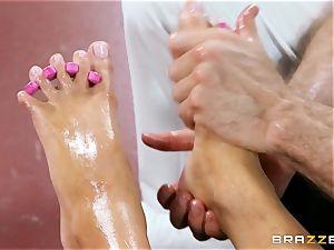 wish footjob given by Nina Elle