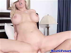humungous titted light-haired housewife lovinТ beef whistle