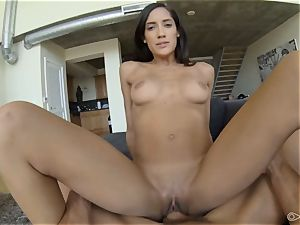Chloe Amour pov fellating and poking