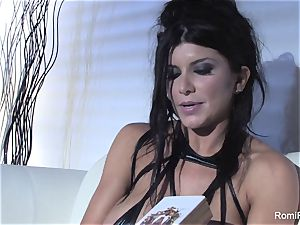 Romi Rain discusses her purchase of some ass fucking toys