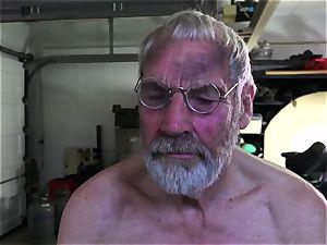 Such an guiltless petite youthfull fuckbox for elderly kinky boy