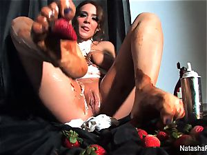 Natasha lovely Gets very dirty