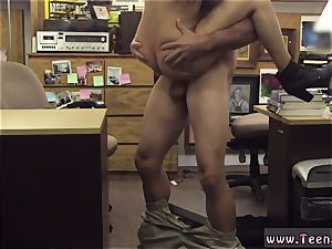 smallish black-haired hd and caboose traffic college student plowed in my pawn shop!
