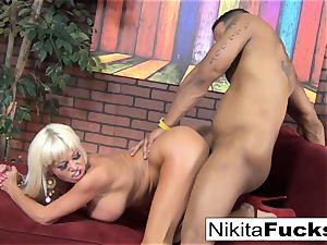 Nikita gets some interracial loving