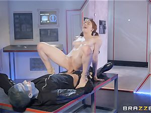 spunk longing redhead jammed by Danny D
