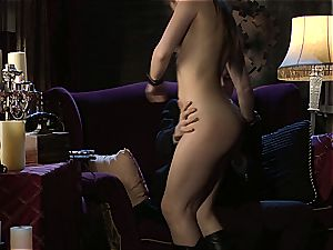 Dani Daniels implementing cogs and stiffys in her steampung fantasy