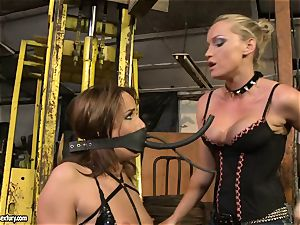 Andy chocolate-colored and Kathia Nobili bind and covering of gullet
