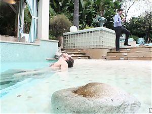 Pool plowing plums deep ultra-kinky humid sweetheart Lyra Law