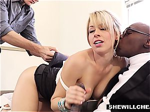 cuckold mummy cucks spouse with a immense black man-meat