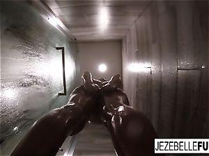 Jezebelle Bond sizzling warm shower