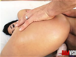Bamvisions steaming Latina nubile Vanessa Sky hankers ass fucking fuck-a-thon