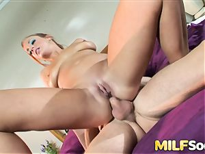 tucking milf Gabriella Banks in the bootie
