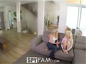 SpyFam Step mom Brandi enjoy gives Elsa Jean fucky-fucky advice