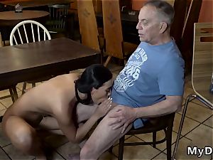 elderly girl video gonzo Can you trust your girlpatron leaving her alone with your father?