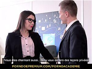pornography ACADEMIE - professor Valentina Nappi MMF threeway