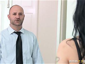 cheating wife Katrina Jade fucks ebony manstick